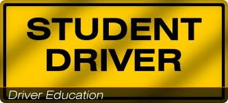 Student driver clipart.