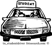Student driver Clip Art Royalty Free. 790 student driver clipart.