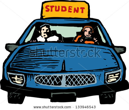 Student Driver Stock Images, Royalty.