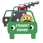 Student Driving Clipart.
