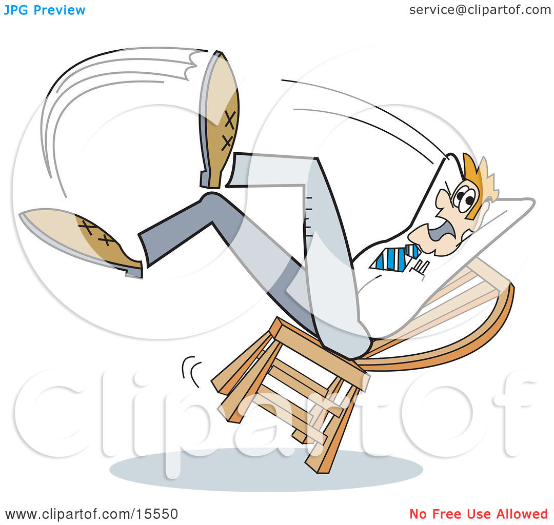 Showing post & media for Cartoon falling off stool.