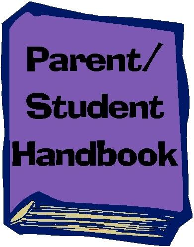 Student Handbook Clipart.