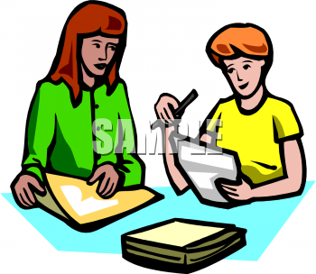 teacher helping studentclip art_petal.