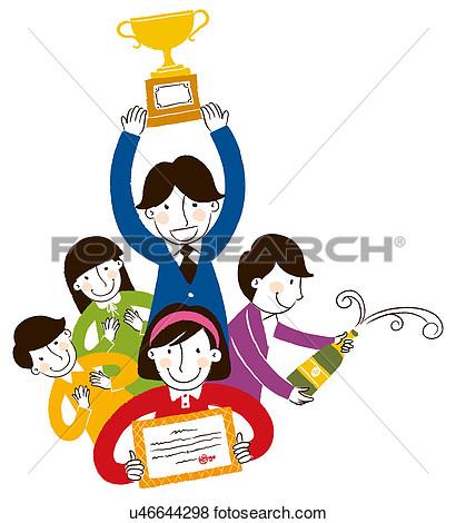 Showing post & media for Cartoon holding award.