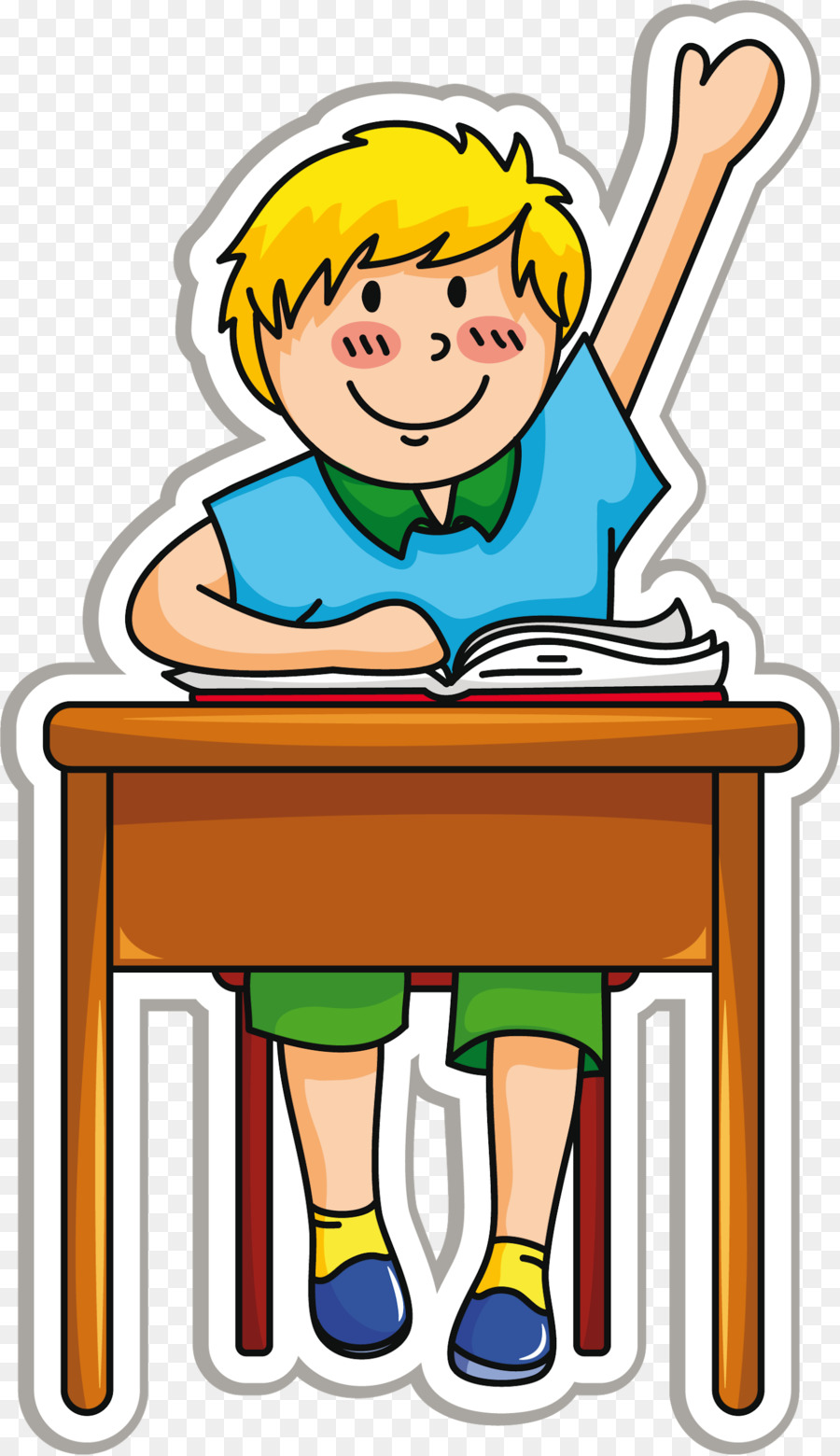 School Desk clipart.