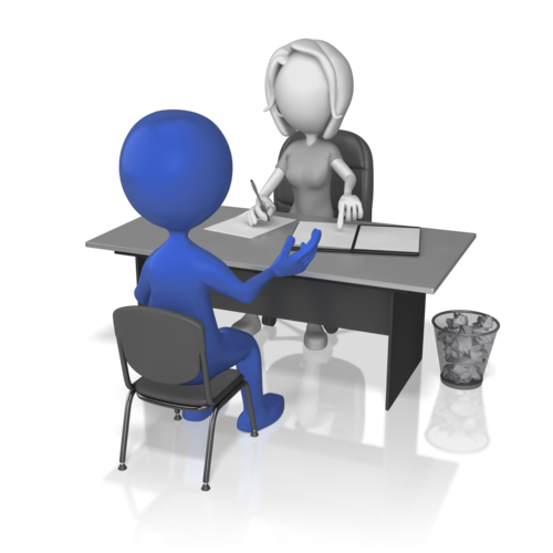 student interview clipart