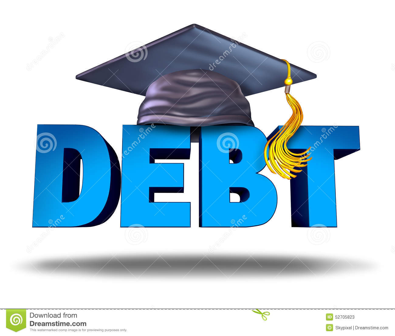 Student loan clipart 3 » Clipart Station.