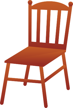 Student Not Sitting In Chair Correctly Clipart.