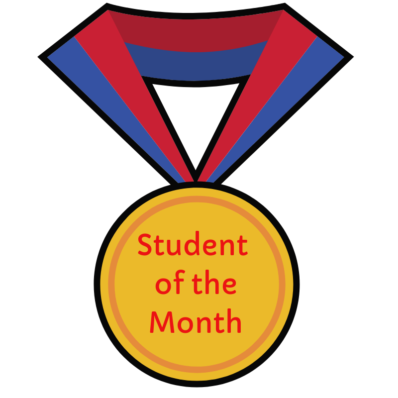 Student of the Month.