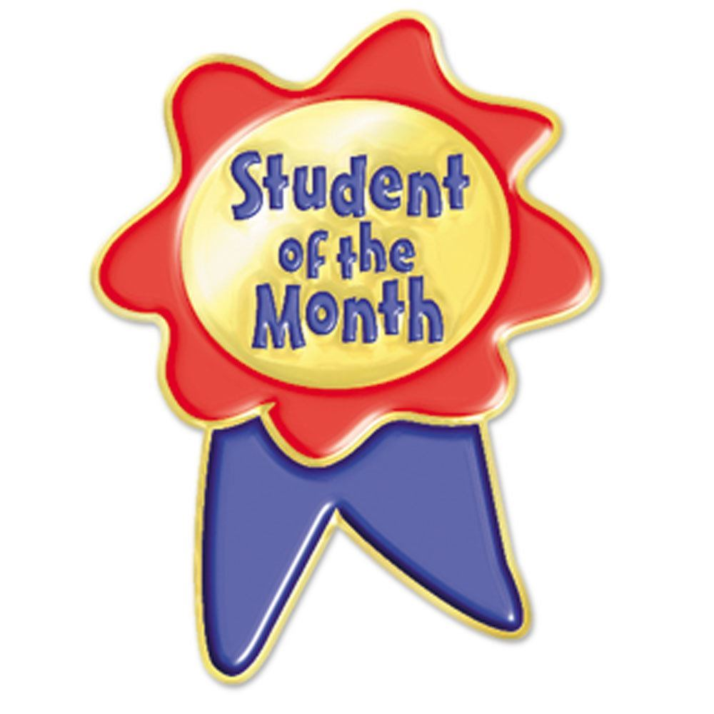 Student Of The Month Clipart.