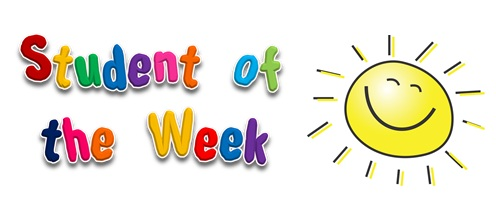 Student Of The Week Clipart.