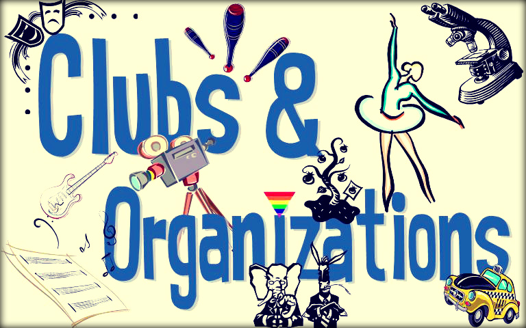 Student Club Clipart.