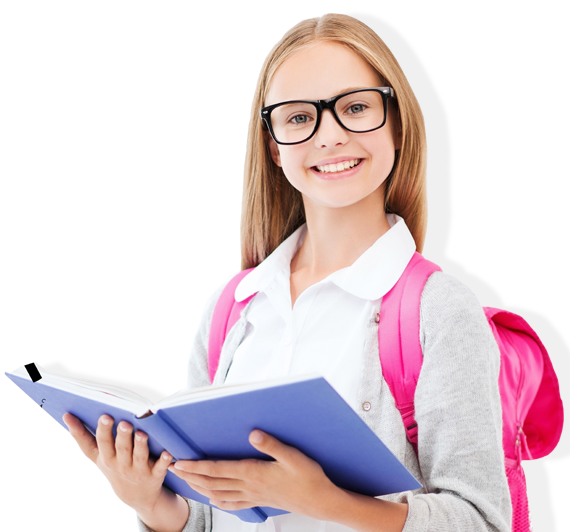 Female Student PNG Image.