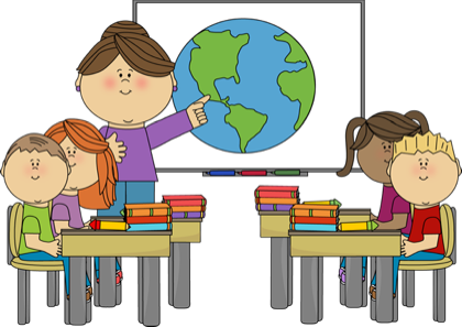 Student At Desk Clipart Teacher · Portfolio Clipart.