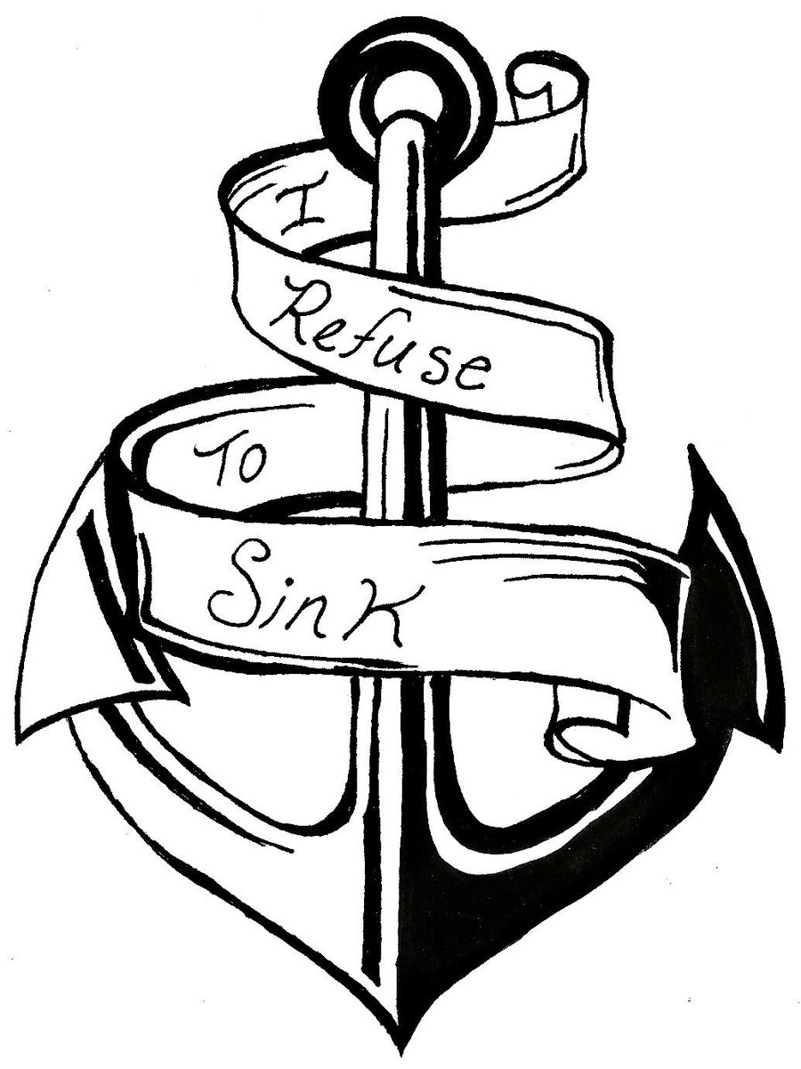 I Refuse To Sink Clipart.