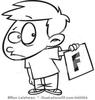 Bad Student Clipart.