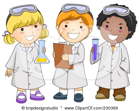 Student Science Clipart.