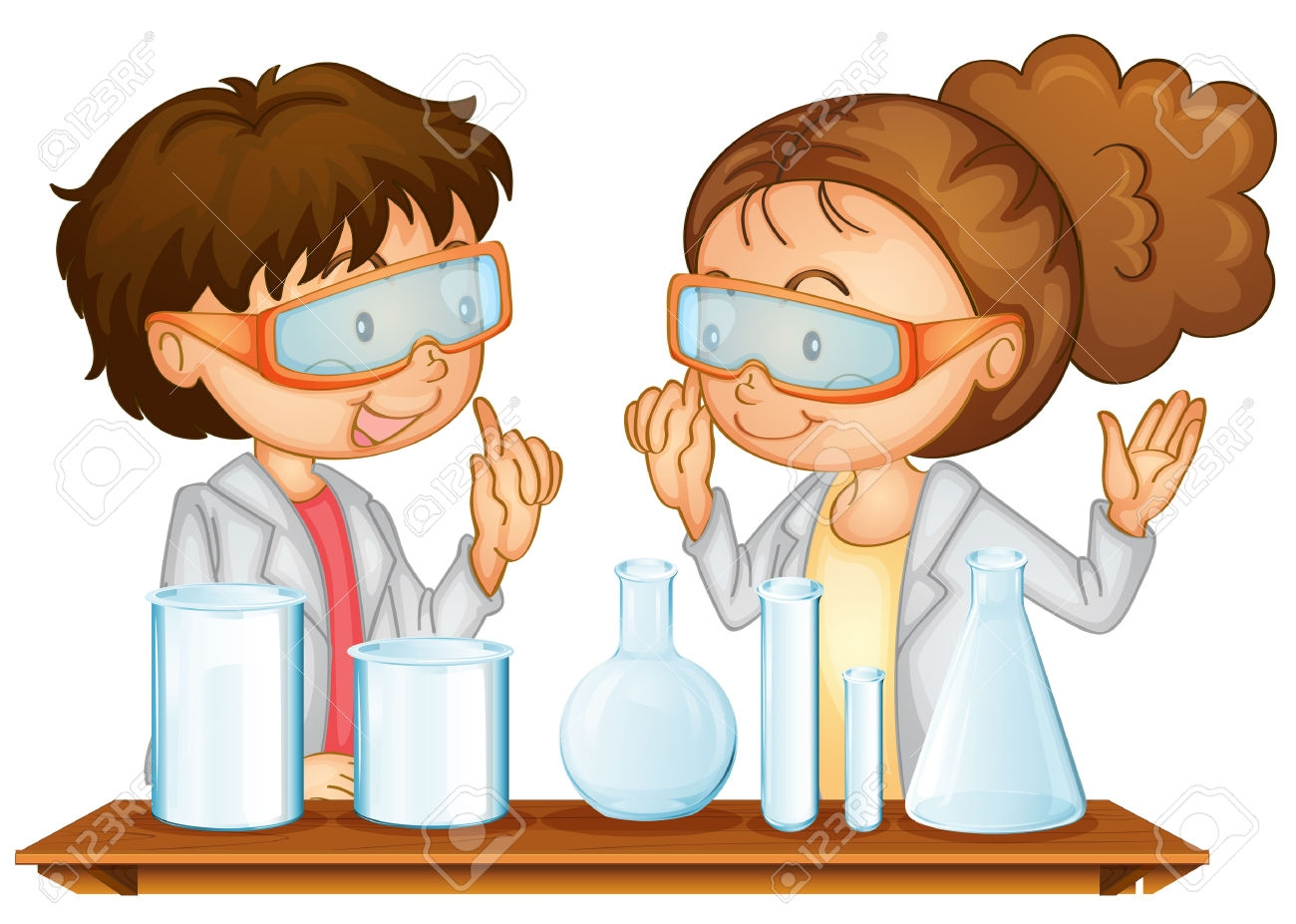 Science Student Clip Art.