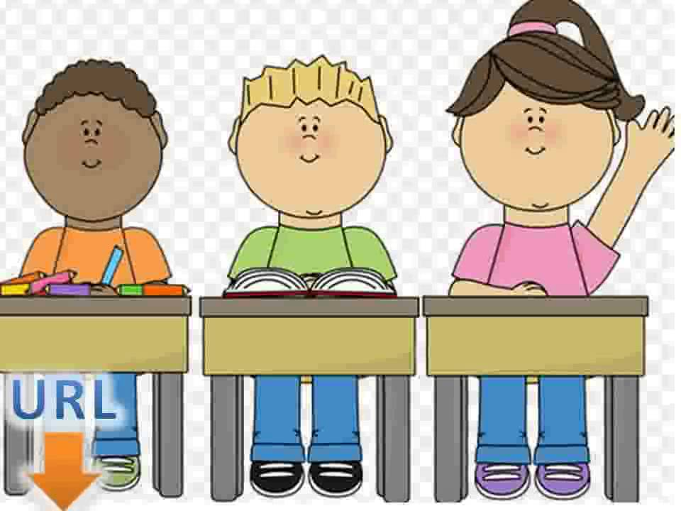 Student sitting at desk clipart 1 » Clipart Station.