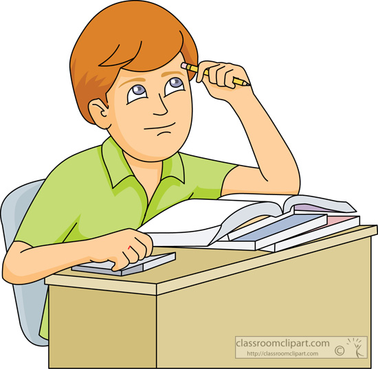42+ Student Studying Clipart.