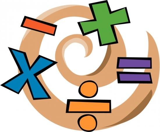 Boy Math Cliparts.