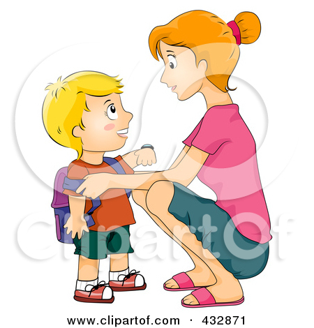 student talking to parent clipart - Clipground