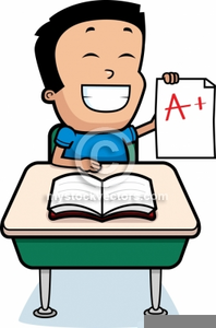 Student Testing Clipart.