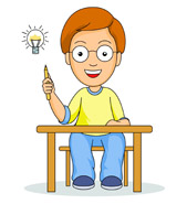 Student Idea Clipart.