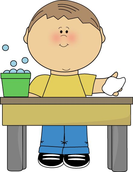 Table Washing Clipart.