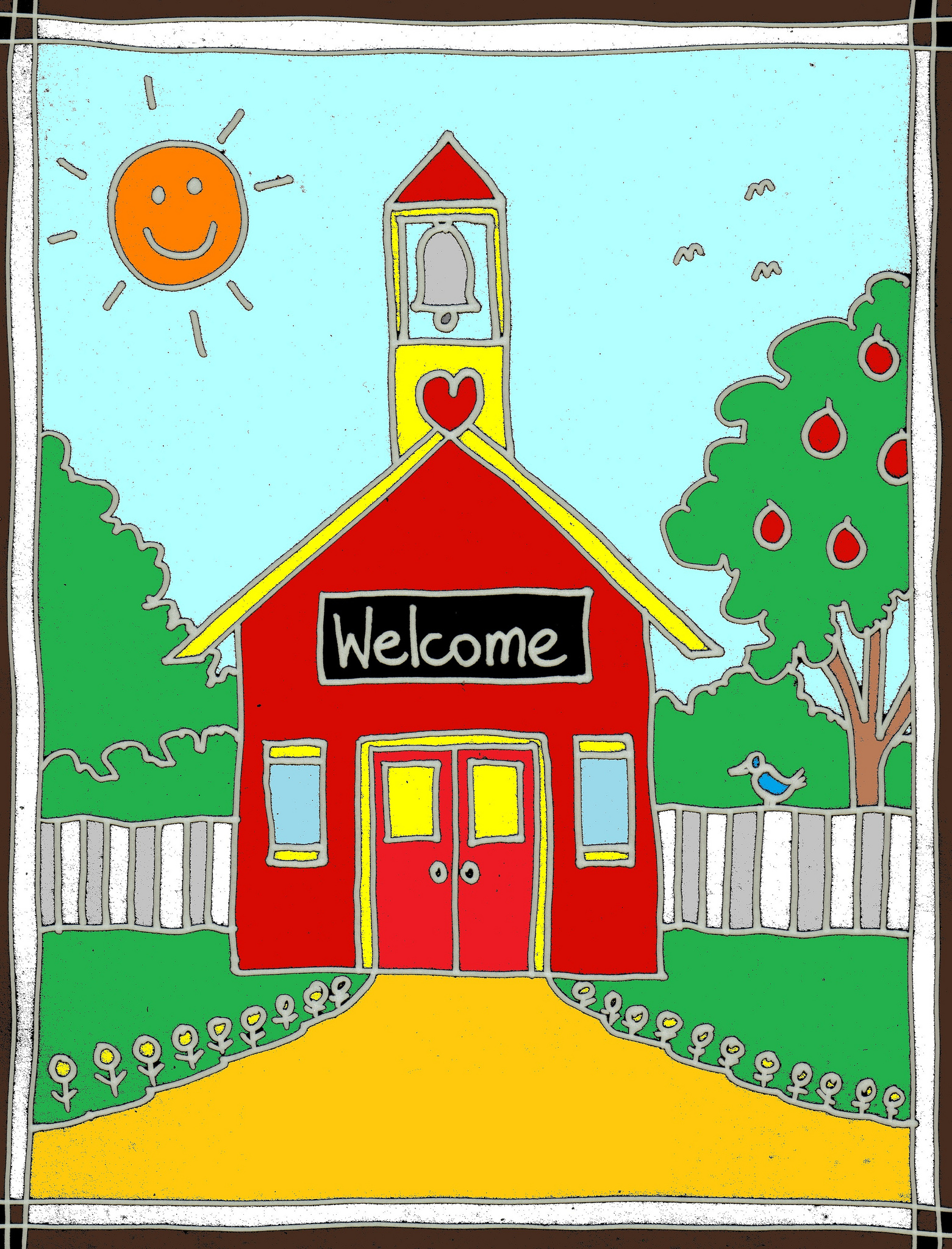 Image of Classroom Welcome Clipart #12705, Teacher Welcome Student.
