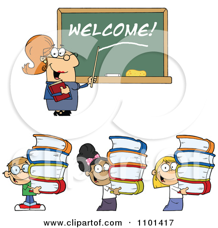 Student Welcome Clipart.