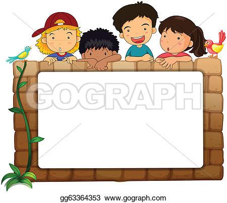 Kids Board Clip Art.