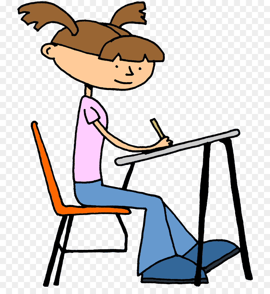 Student Writing At Desk Png & Free Student Writing At Desk.