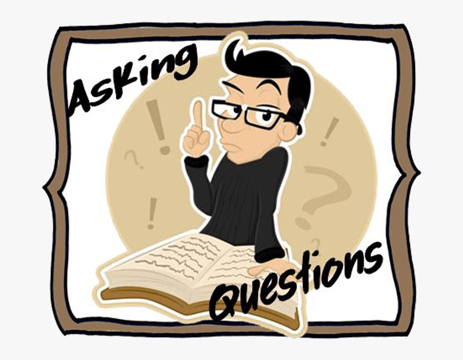Clipart Asking Questions.