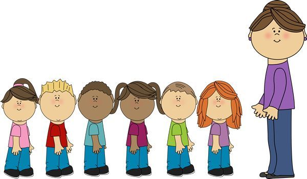 Line Up Clipart.