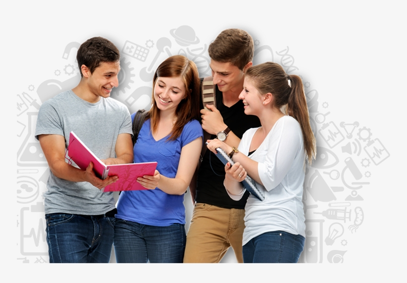 Ielts Students Png.