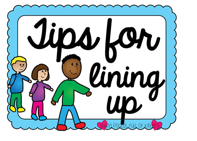Students Standing In Line Clipart.