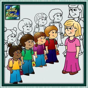 Teacher & Students FREEBIE.