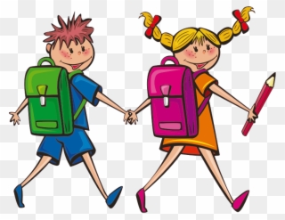 Students Clip Art Student Walking Clipart.