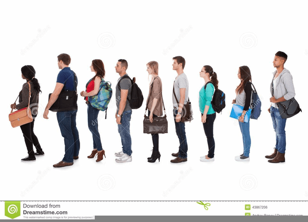 Students walking in line clipart 1 » Clipart Portal.