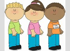 Kids Walking In A Line Clip Art.