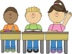 Student Sitting at a Desk Clipart (67+).