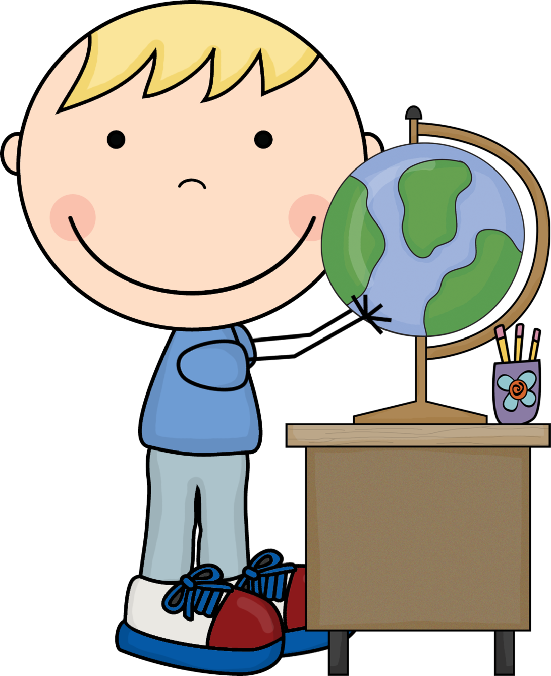 Children social studies clipart.