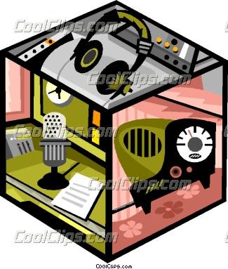 Music studio clipart.