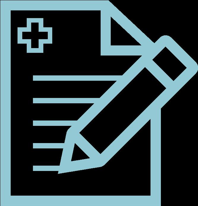 Health Decisions Study Design Icon Binary File Icon.