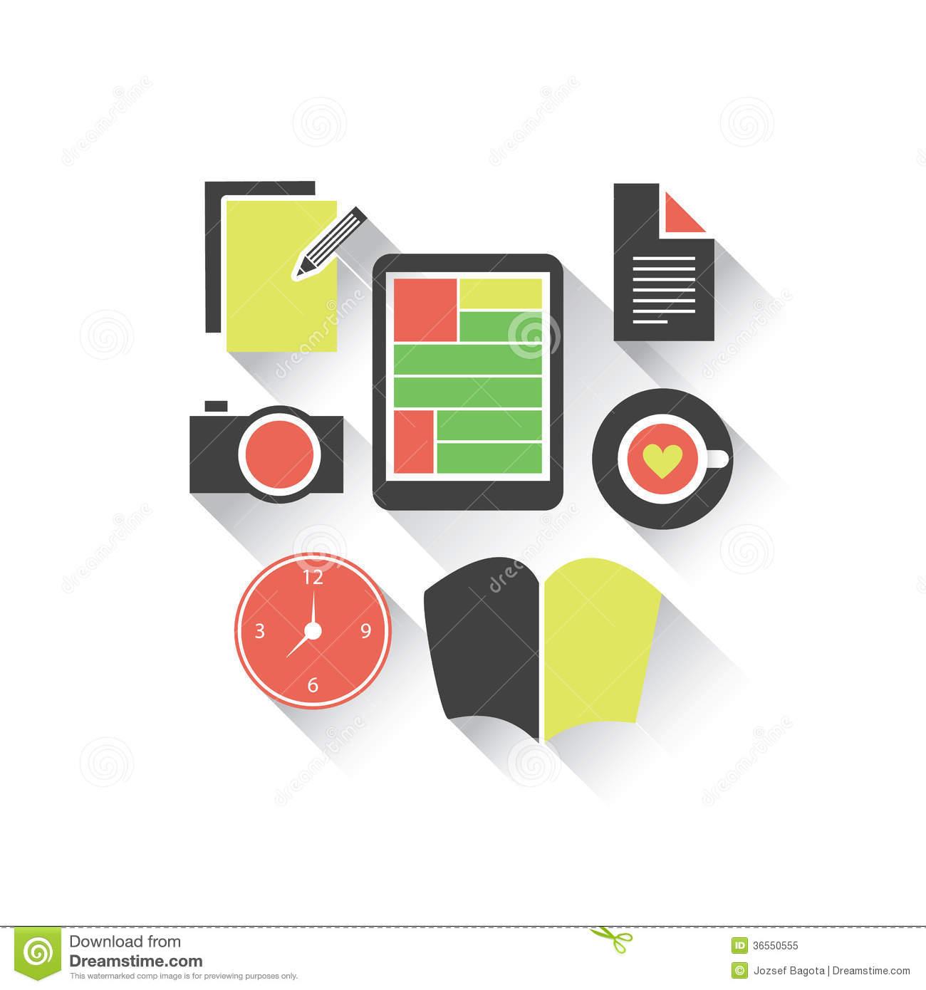 Study Design Clipart.