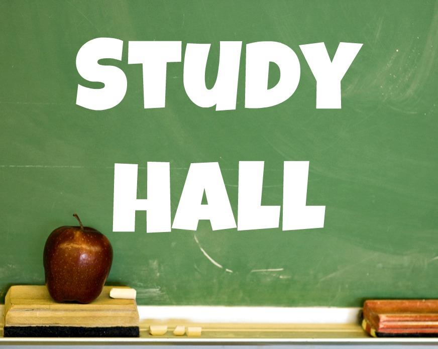 Study Hall Clipart.