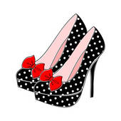 High Heels Clip Art.