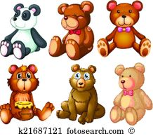 Stuffed animal Clipart EPS Images. 1,909 stuffed animal clip art.