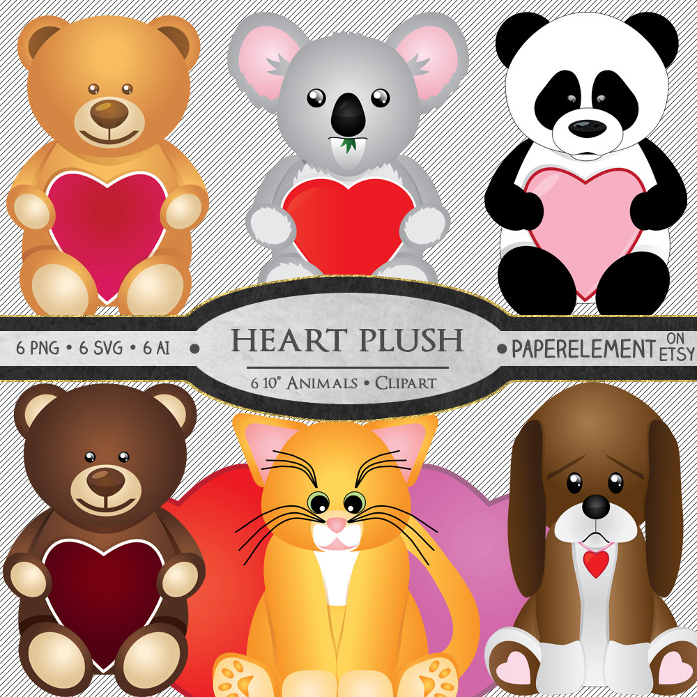 Stuffed Animal Puppy Clipart Clipground